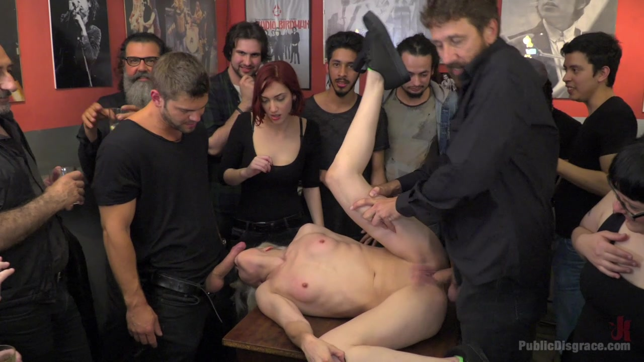 Upper floor orgy leads these women to insane orgasms