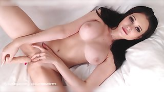 Amazing Nasty Young Cutie Playing With Her Both Holes