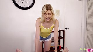 Chloe Cherry is one hell of a stepsis who loves sucking dick
