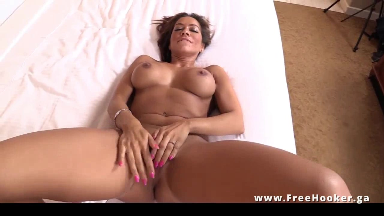 Hot busty hispanic cougar POV sex video