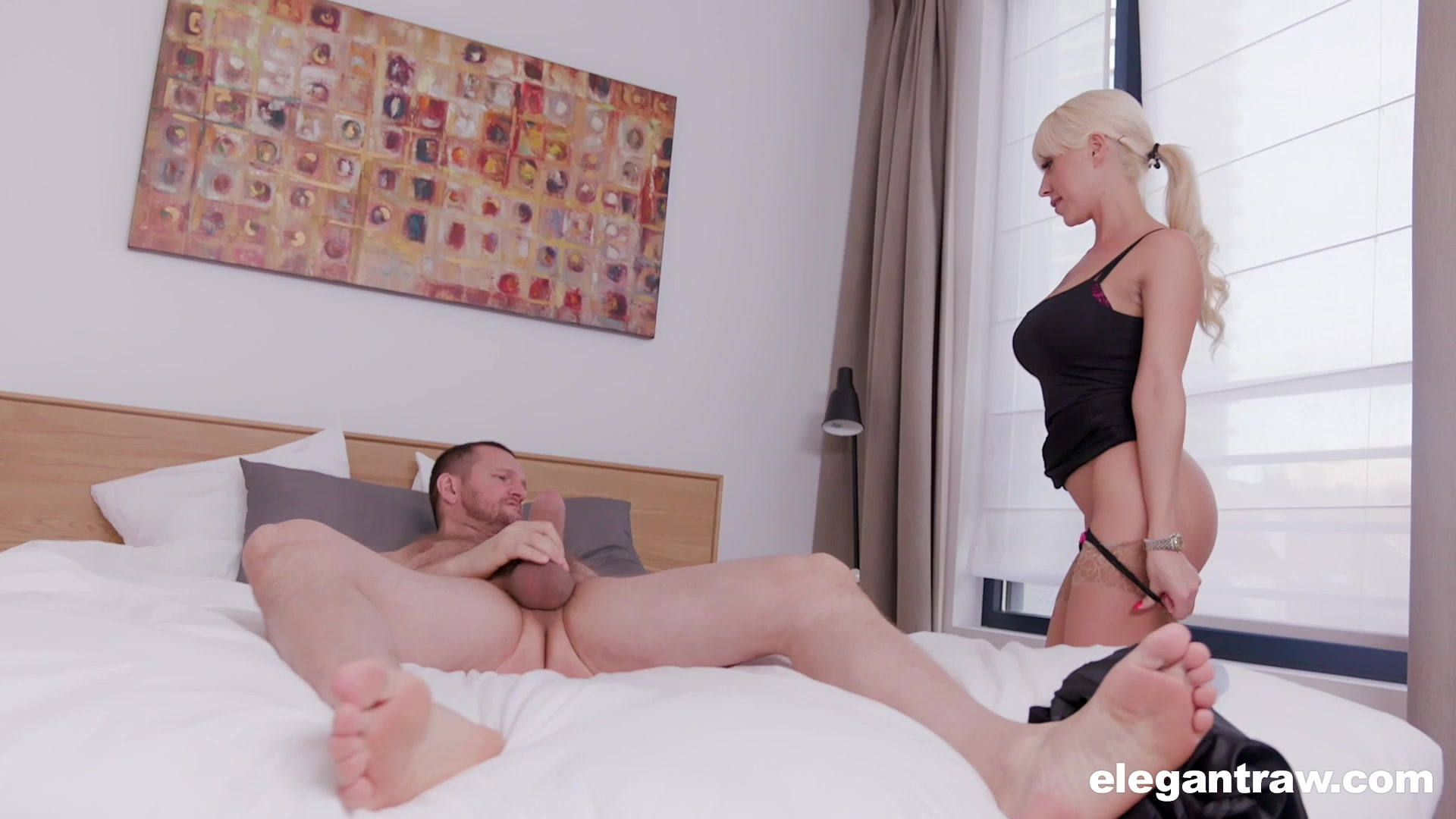 Bossy lady Christina Shine adores sex in all different poses with a dude