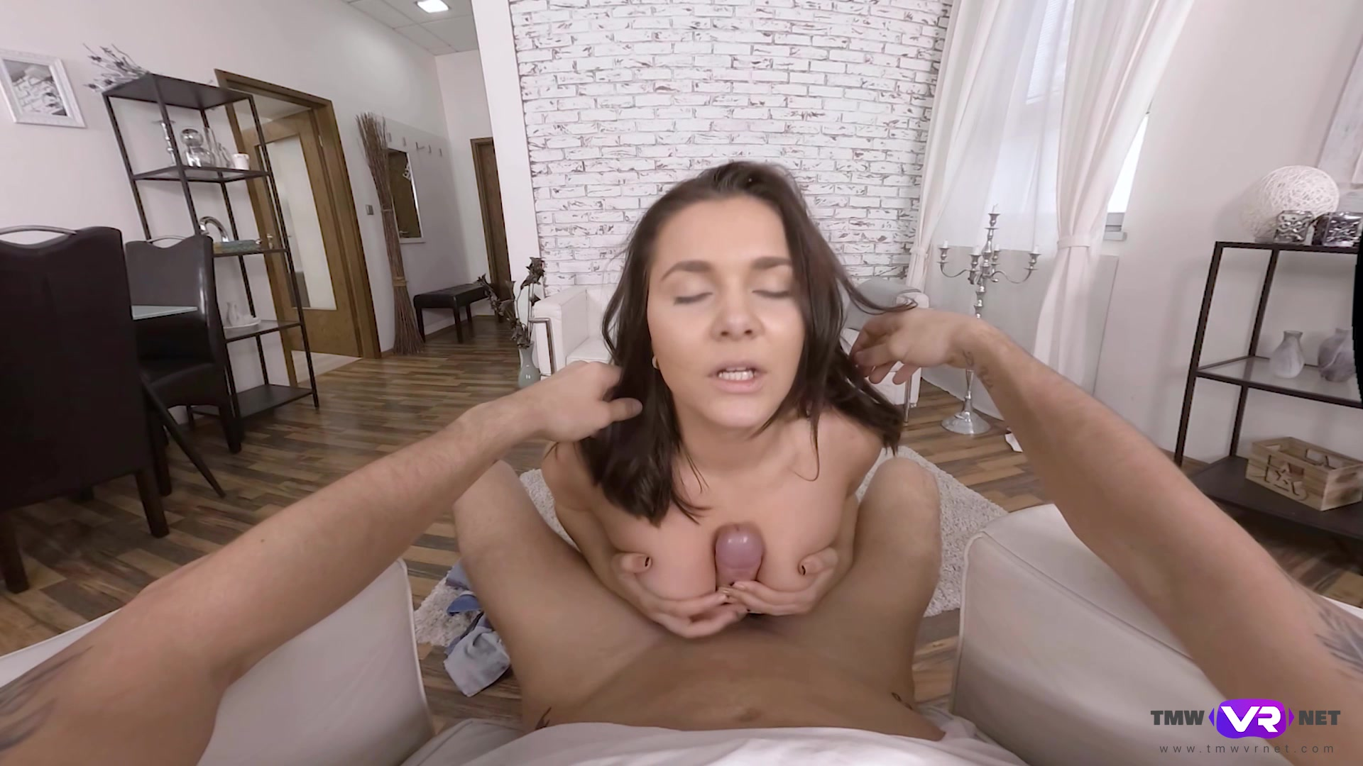 After dick eating Naughty Bee can't wait to jump on a hard penis
